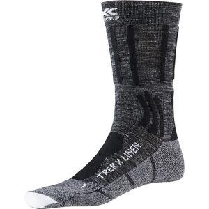 X-Socks Trek X Linen Socks Herren dolomite grey melange/opal black dolomite grey melange/opal black