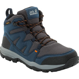 Jack Wolfskin MTN Attack 3 Texapore Mid Shoes Kinder night blue night blue
