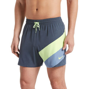 "Nike Swim Optic Camo Mesh Signal 5"" Volley Shorts Herren monsoon blue monsoon blue"