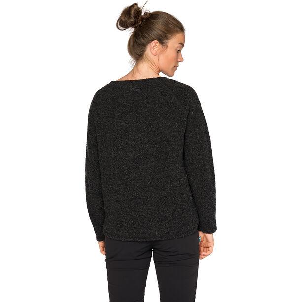 Varg Fårö Wool Jersey Damen dark anthracite