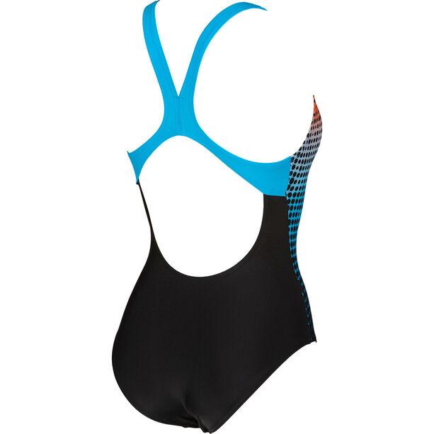 arena Daytrip New Swim Pro Back LB One Piece Badeanzug Damen black/turquoise