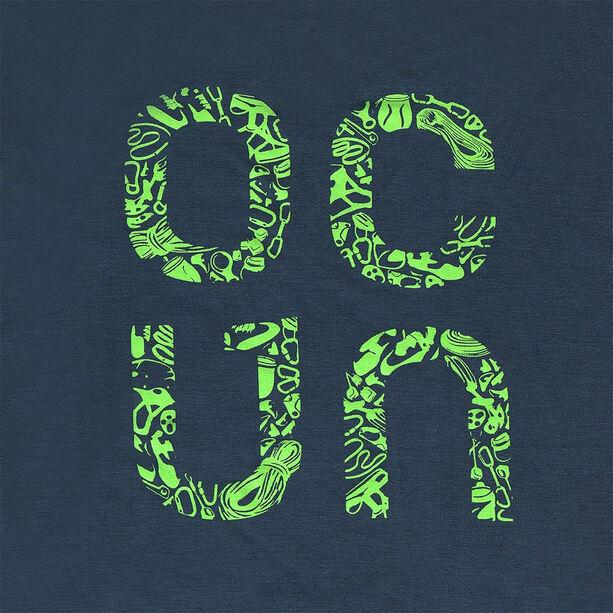 Ocun Bamboo Gear T-Shirt Herren slate blue