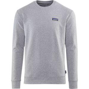 Patagonia P-6 Label Uprisal Crew Sweatshirt Herren gravel heather gravel heather