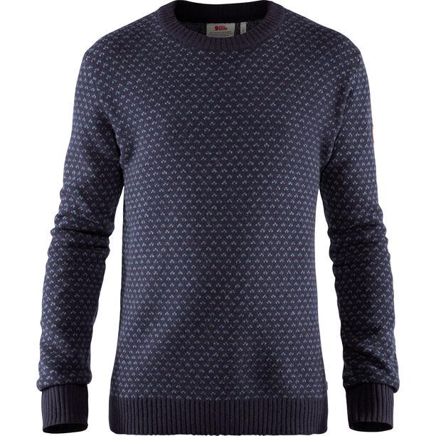 Fjällräven Övik Nordic Sweater Herren dark navy