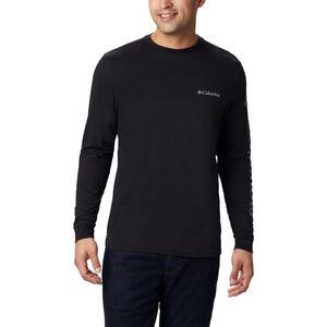 Columbia Columbia Lodge Langarm Graphic T-Shirt Herren black/sleeve hit black/sleeve hit