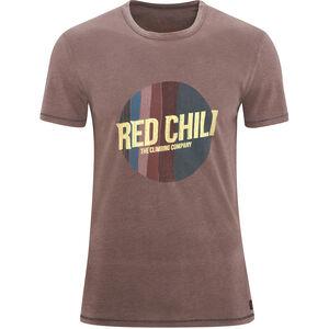 Red Chili Apani T-Shirt Herren brun brun