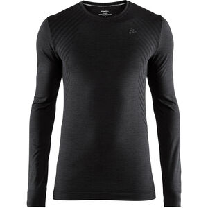 Craft Fuseknit Comfort Round-Neck LS Shirt Herren black black