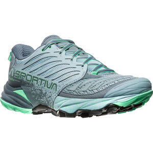 La Sportiva Akasha Running Shoes Damen stone blue/jade green stone blue/jade green