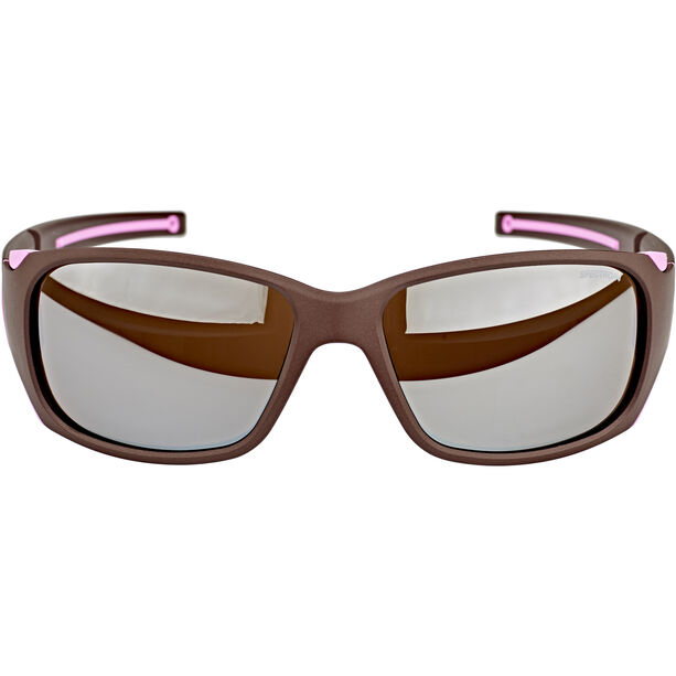 Julbo Monterosa Spectron 4 Sunglasses Damen aubergine/pink-brown flash silver