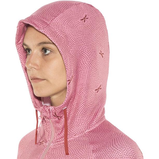 Maloja AmaliaM. Hooded Fleece Jacket Damen cherry blossom