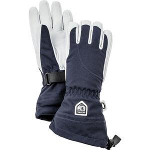 Hestra Heli Ski 5 Finger Gloves Damen navy/off-white navy/off-white