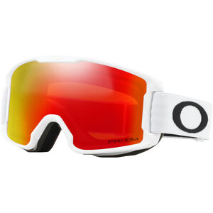 Oakley Line Miner Snow Goggles Kinder matte white/w prizm snow torch iridium matte white/w prizm snow torch iridium