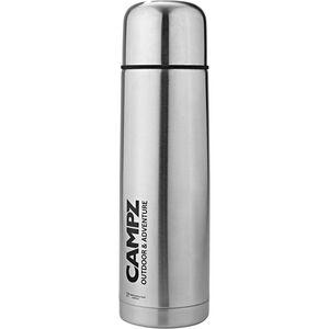 CAMPZ Edelstahl-Isolierflasche 1000ml silber silber