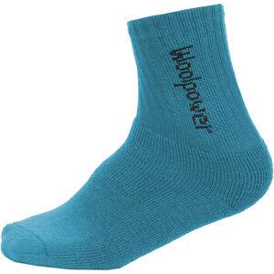 Woolpower 400 Classic Logo Socks Kinder dolphin blue dolphin blue