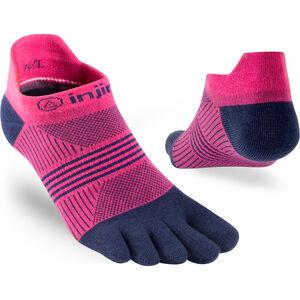 Injinji Run Coolmax Xtra Lightweight Sneakersocken Damen pink navy pink navy