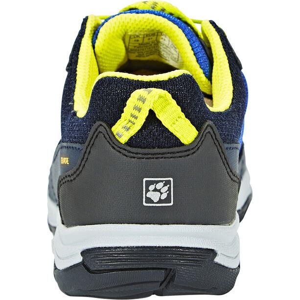 Jack Wolfskin Akka Texapore Low Shoes Jungen vibrant blue