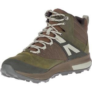 Merrell Zion GTX Mid-Cut Schuhe Herren dark olive dark olive