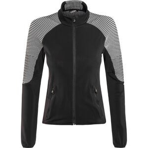 UYN Ambityon Second Layer Full-Zip Jacke Damen black/medium grey/off white black/medium grey/off white