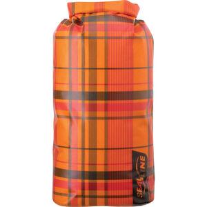 SealLine Discovery Dry Bag 30l orange plaid orange plaid