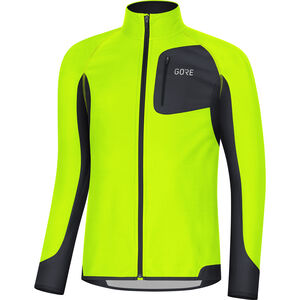 GORE WEAR R3 Partial Gore Windstopper Shirt Herren neon yellow/black neon yellow/black