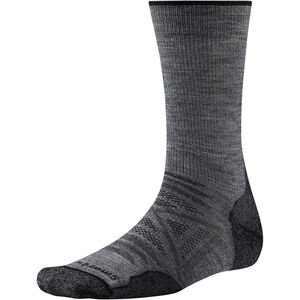 Smartwool PhD Outdoor Light Crew Socks medium gray medium gray
