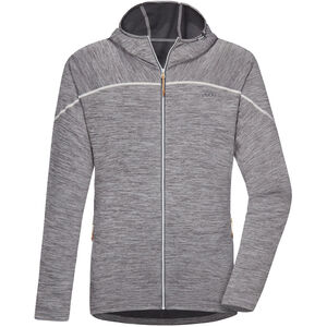 PYUA Shoal Kapuzenjacke Herren light grey melange light grey melange