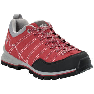 Jack Wolfskin Scrambler Low Schuhe Damen red/light grey red/light grey