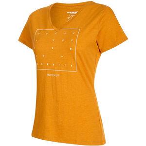 Mammut Zephira T-Shirt Damen golden melange PRT2 golden melange PRT2