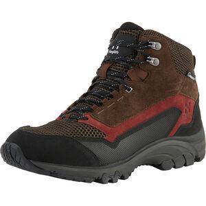 Haglöfs Skuta Proof Eco Mid Shoes Herren barque/maroon red barque/maroon red