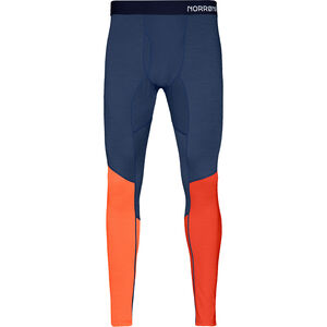 Norrøna Equaliser Merino Unterhose Herren rooibos tea/indigo night rooibos tea/indigo night