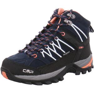 CMP Campagnolo Rigel Mid WP Trekking Shoes Damen black blue-giada-peach black blue-giada-peach