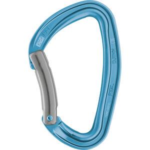 Petzl Djinn Bent Gate Carabiner blue blue