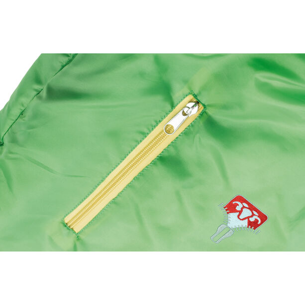 Grüezi-Bag Grow Colorful Sleeping Bag Kinder gecko green