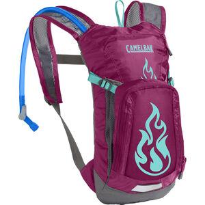 CamelBak Mini M.U.L.E. Hydration Pack 1,5l Kinder baton rouge/ flames baton rouge/ flames
