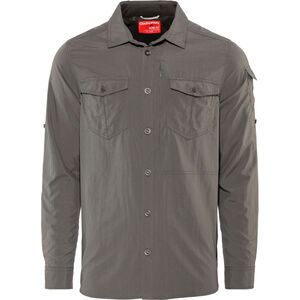Craghoppers NosiLife Adventure II Longsleeved Shirt Herren black pepper black pepper