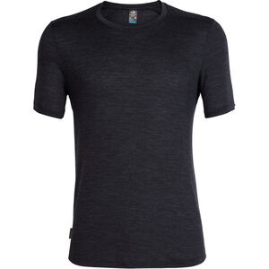 Icebreaker Sphere SS Rundhalsshirt Herren black heather black heather
