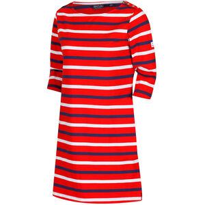 Regatta Harlee Dress Damen fiery red stripe fiery red stripe