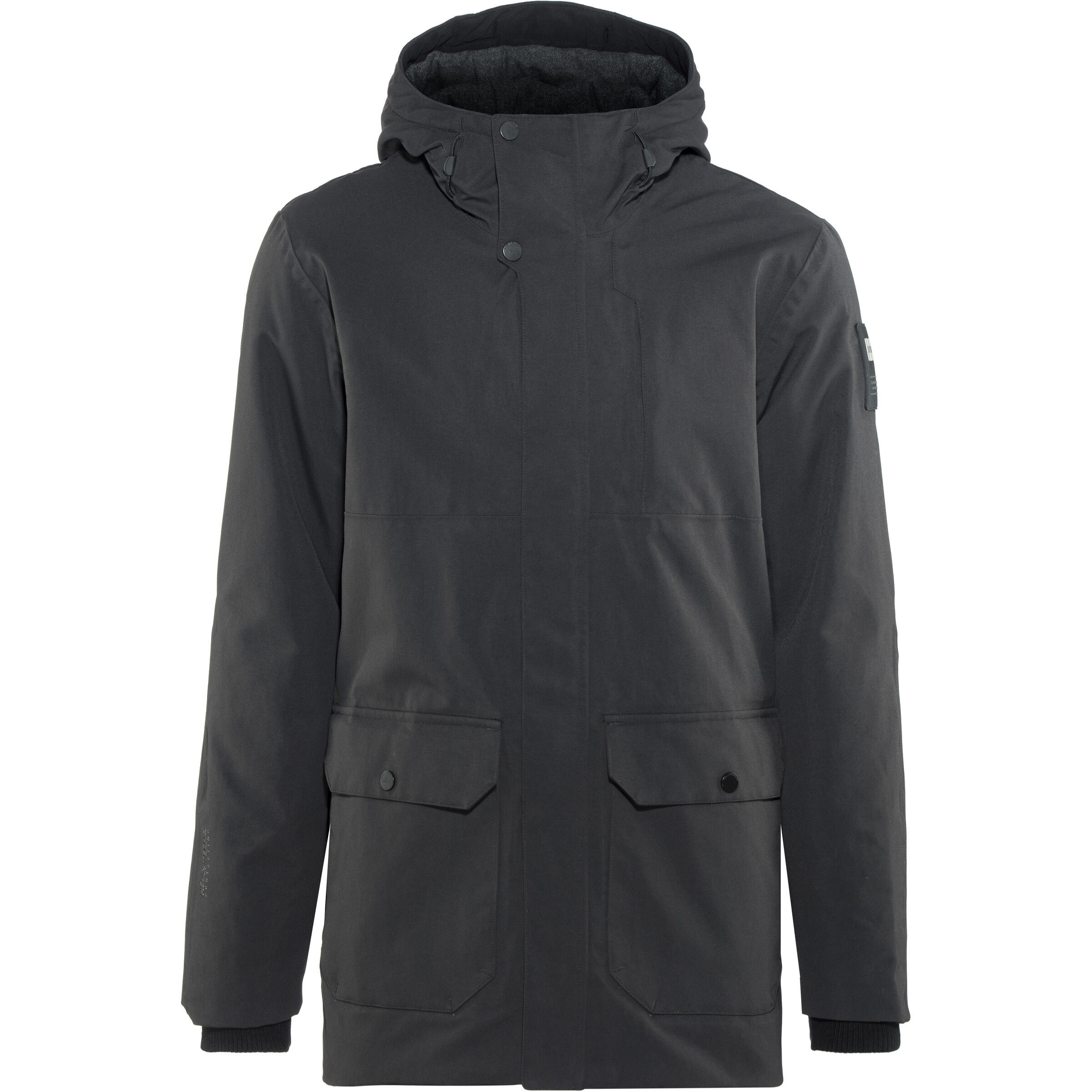 Urban Hansen Long Black Herren Helly Jacket Lj4AR5