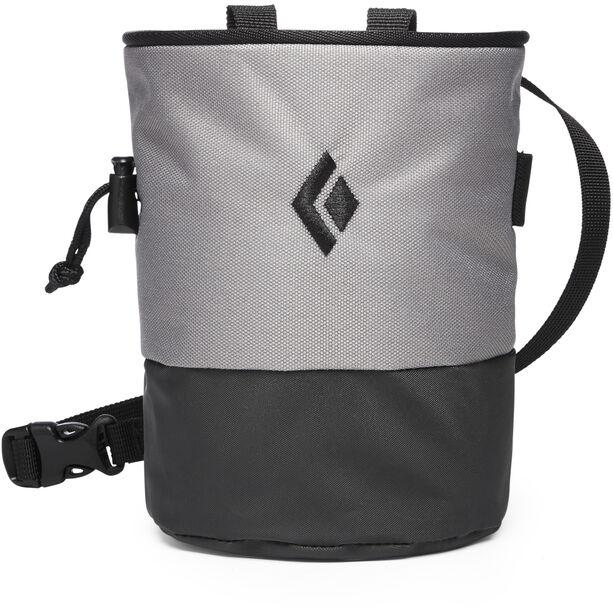 Black Diamond Mojo Zip Chalk Bag S/M ash-slate