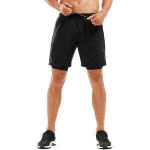 """2XU Kompressions 7"""" 2in1 Shorts Herren black/black black/black"""