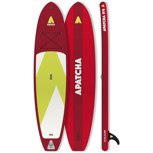 Indiana SUP Apatcha 11'6 Fire Aufblasbares SUP Board red red