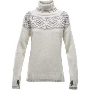 Devold Ona Round Sweater Damen offwhite offwhite