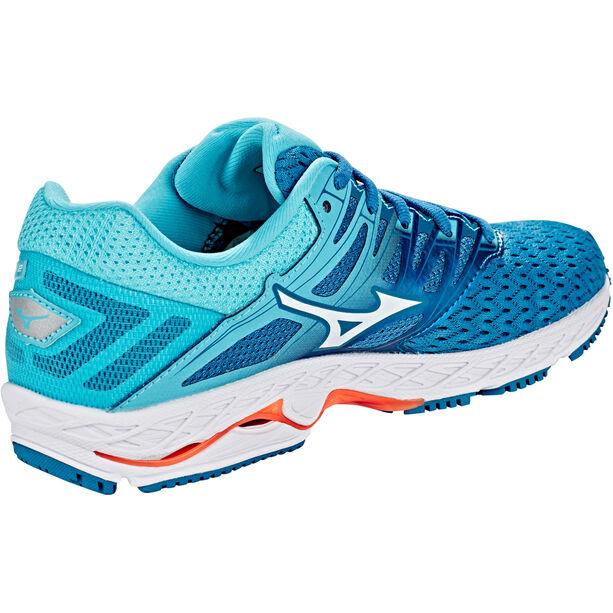 Mizuno Wave Shadow 2 Shoes Damen blue sapphire/white/blue curacao