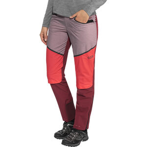 GORE WEAR H5 Windstopper Hybrid Pants Damen chestnut red/hibiscus pink chestnut red/hibiscus pink