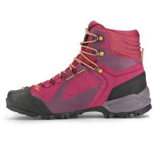 SALEWA Alpenviolet GTX Mid Shoes Damen red plum/orange popsicle red plum/orange popsicle