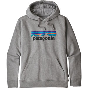 Patagonia P-6 Logo Uprisal Hoodie Herren gravel heather gravel heather