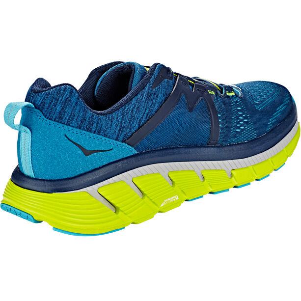 Hoka One One Gaviota 2 Running Shoes Herren black iris/seaport