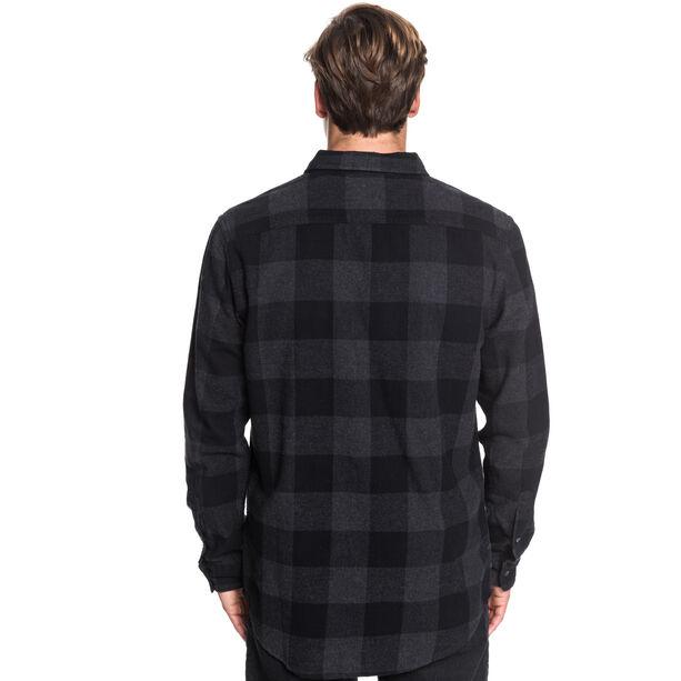 Quiksilver Motherfly Flannel Shirt Herren black motherfly