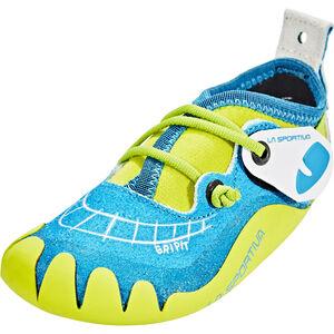 La Sportiva Gripit Climbing Shoes Kinder blue/sulphur blue/sulphur