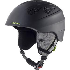 Alpina Grap 2.0 Ski Helmet charcoal-neon matt charcoal-neon matt